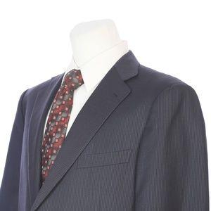 Ermenegildo Zegna Italian Wool Blue Sport Coat